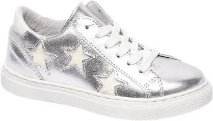 Cupcake Couture Zilveren leren sneaker sterren