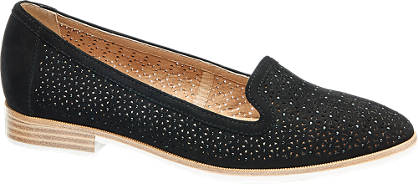 5th Avenue Cut Out Læderloafer