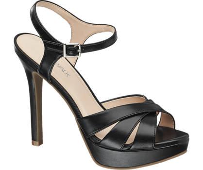 Catwalk sandały damskie na obcasie