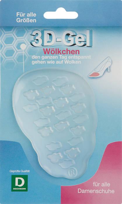 3D Zselés talp-párna