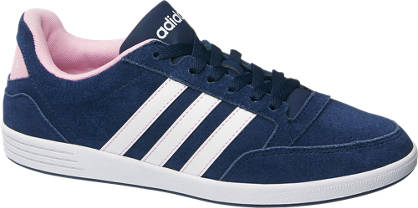 timeless design d8d5a 555be clearance adidas neo label damen sneaker vlneo hoops low blau 5749e 927af