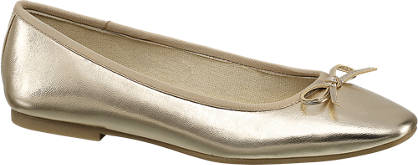 Graceland Ballerinas im Metallic-Design