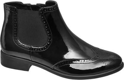 Graceland Chelsea Boots in Lack-Optik