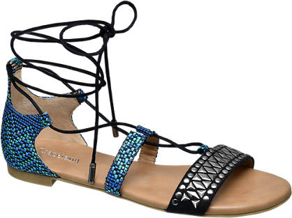 Star Collection Lace-up Sandalen