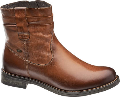 5th Avenue Leder Boots gefüttert