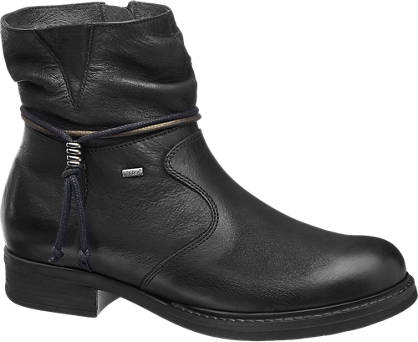 5th Avenue Leder Boots gefüttert