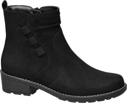Easy Street Leder Komfort Boots, Weite: G