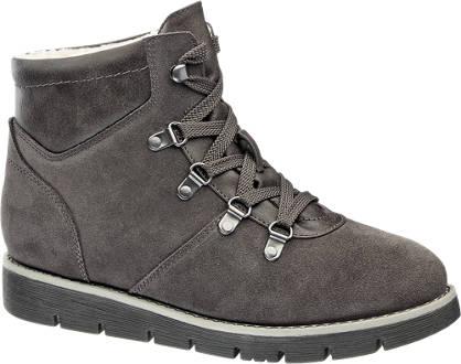 Medicus Leder Komfort Boots gefüttert, Weite: H