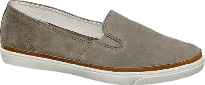 5th Avenue Leder Slip On Sneakers