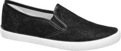 Graceland Leinen Slip On Sneakers