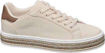 Graceland Plateau Leinen Sneakers