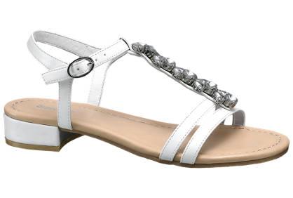 Graceland Sandalen mit Schmucksteinen