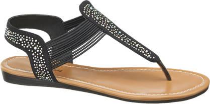 Graceland Sandaletten mit Nieten