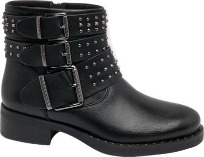 Catwalk Schnallen Boots mit Nieten