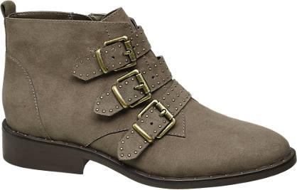 Star Collection Schnallen Boots mit Nieten