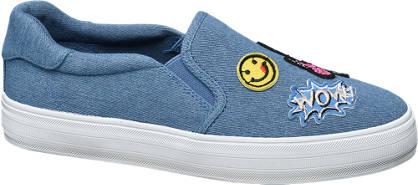 Graceland Slip On Leinen Sneakers