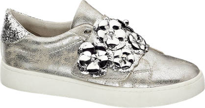 Catwalk Sneakers im Metallic-Look