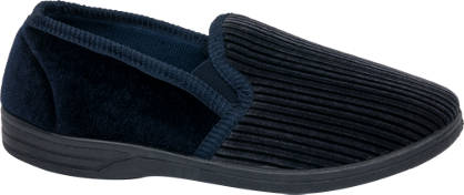 Mens Stripe Full Slippers