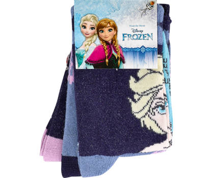 Disney Frozen Disney Frozen 3 pairs chaussettes filles 23-26; 27-30; 31-34