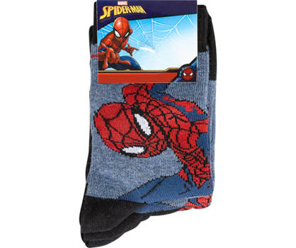 Spiderman Disney Spiderman 3 pairs chaussettes garçons 23-26; 27-30; 31-34