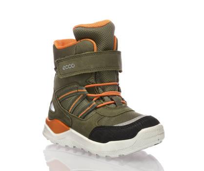 Ecco Ecco Urban GoreTex chaussure pour la neige garçons vert olive