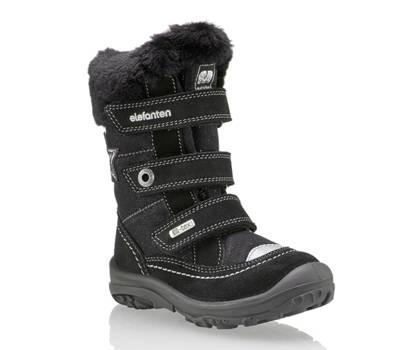 Elefanten Elefanten Elina vastita M IV calzature per la neve bambina nero