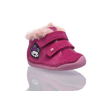 Elefanten Elefanten Lubear vastita M III scarpa primi passi bambina rosa intenso