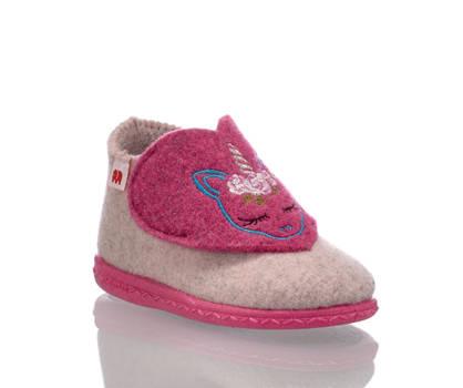 Elefanten Elefanten Pia pantofole bambina rosa intenso