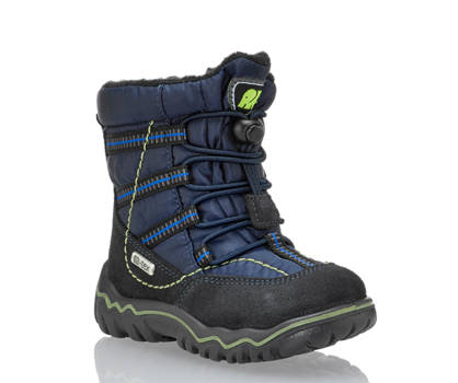 Elefanten Elefanten Sepp vastité W V chaussure pour la neige garçons bleu navy