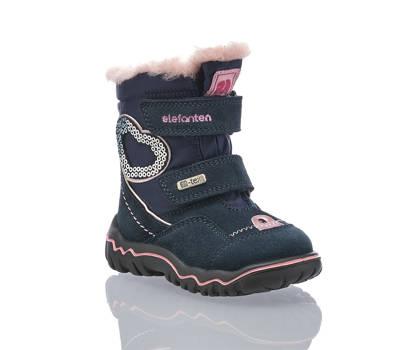 Elefanten Elefanten Sina vastita W calzature per la neve bambina blu