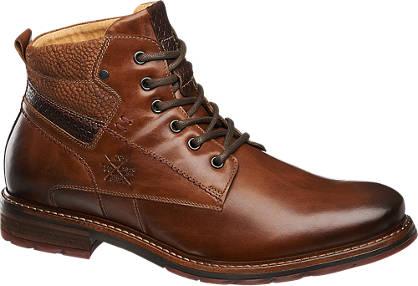 Am Shoe Elegáns férfi bokacsizma