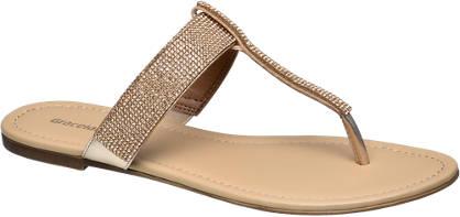 Graceland Embellished Toe-Post Sandals