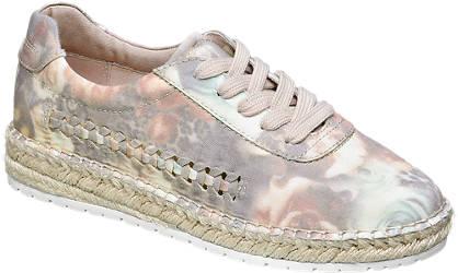 Graceland Espadrilles beige-creme, rosa
