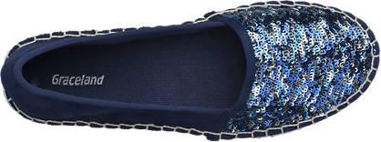 Graceland Espadrilles blau
