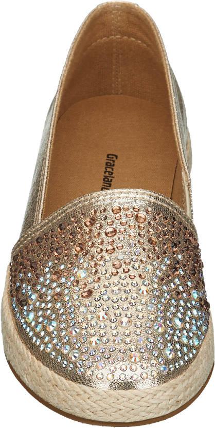 Graceland Espadrilles gold