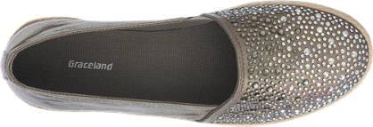 Graceland Espadrilles grau