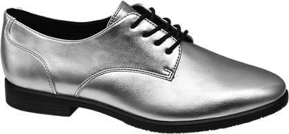 Graceland Ezüst dandy cipő