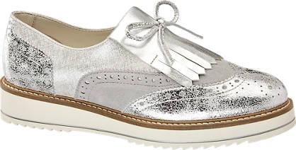 5th Avenue Ezüst dandy cipő