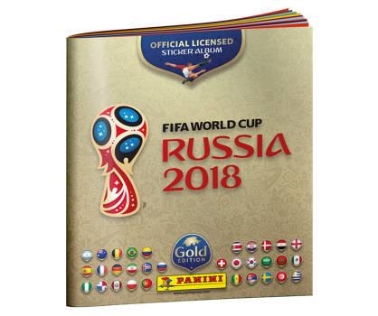 Panini FIFA World Cup 2018 Sticker Album