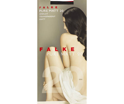 Falke Falke 1 Pack Pure Matt Socken Damen 35-38; 39-42