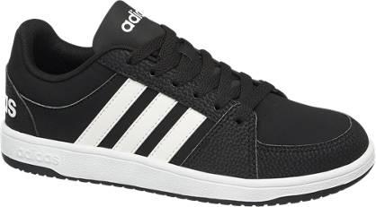 Adidas Fekete HOOPS VS K gyerek sneaker