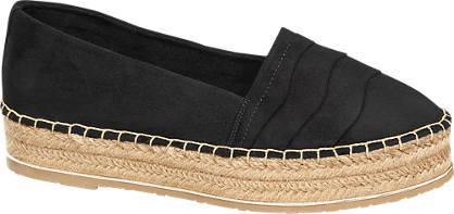 Star Collection Fekete espadrilles