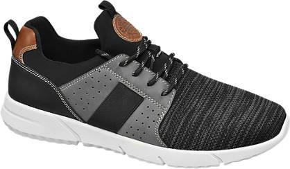 Landrover Fekete fűzős férfi cipő