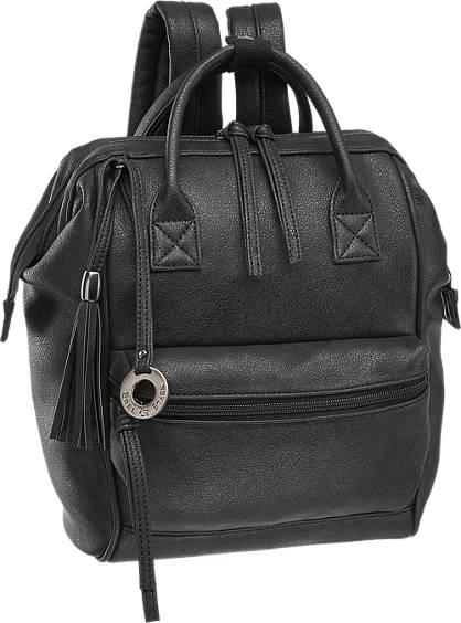Edel&Stark Fekete női hátizsák