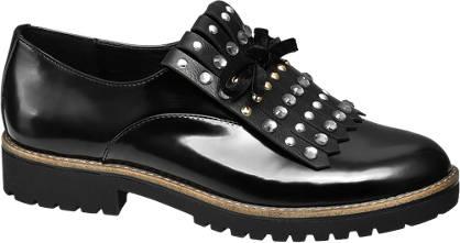 Catwalk Fekete női loafer