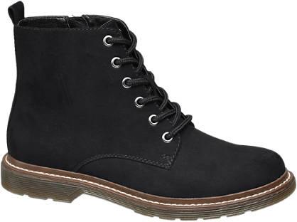 Graceland Fekete színű bakancs