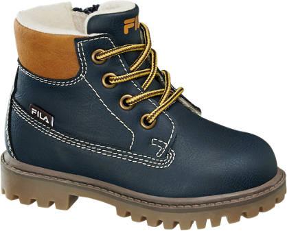 Fila Blauwe boot ritssluiting