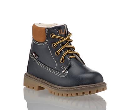 Fila Fila boot à lacet garçons bleu navy