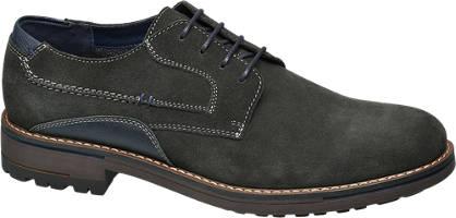 Am Shoe Férfi bőr fűzős félcipő