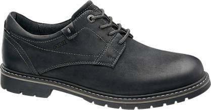 Am Shoe Férfi fekete fűzős cipő